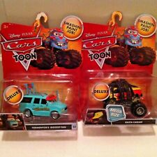 "Disney Cars Toons ""MonsterTruck Mater"" Mega Size Tall Tales series RARE Diecast"