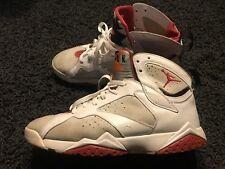 Air Jordan 7 Hare White And Red NBA Basketball Shoes Michael Jordan