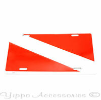 Diver's Scuba Flag Aluminum Metal License Plate Sign Tag NEW Free Shipping