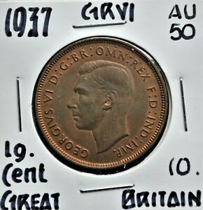 1937 Great Britain Penny