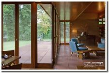 Frank Lloyd Wright House - Interior Florence Alabama  POSTER