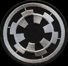 STAR WARS Black Imperial Forces Iron On PATCH