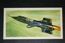 USAF  North American X-15       Illustrated  Card  # VGC