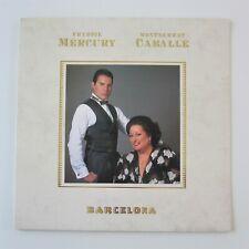 Freddie Mercury : Barcelona 1988 UK First Pressing Vinyl LP Album Record Queen