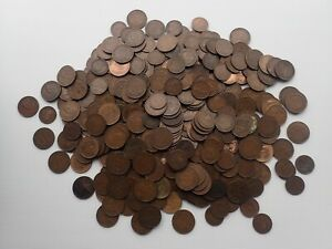 Bulk Lot Australian Pennies 3.2 kg Mainly King George V