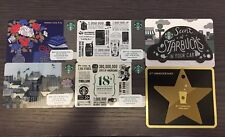 Starbucks Korea 2017 Rare Starbucks Cards Set Of Six