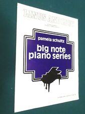 Linus & Lucy Big Note Piano by Vince Guaraldi arranged by Pamela Schultz