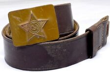 Russia Soviet USSR Uniform Belt Army Soldier Soviet Military #8342