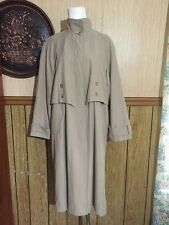 Lord&Taylor Classic Trench Coat With Zip In Liner Size 8P Exclusively For You