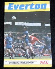 Everton v   Aston Villa    1-1-1987