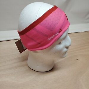 New JUNK For Reebok Pink Print Ear Warmer~Retail $22.00