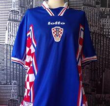 Vintage Croatia Football Team 1998-01 Away Shirt, Lotto, XL, Italian World Cup
