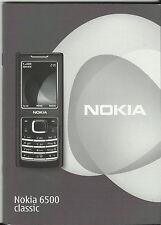 Nokia 6500 Classic Manual: instrucciones – Teléfono Celular-teléfono