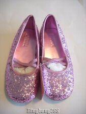 Gymboree SCHOOLGIRL ROCKS Pink Sparkle Flats Shoes Girl Size 12 NWT