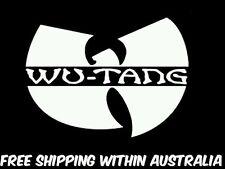 Wutang decal sticker car ute jdm drift hoon toolbox mancave punk