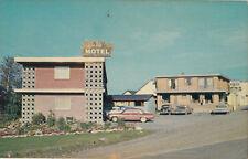 Lenver Motel & Inn DRYDEN Ontario Canada Alex Wilson Postcard