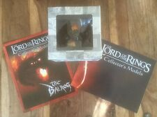 Eaglemoss LOTR Figure BALROG Chess Limited Special Edition Very Rare + Magazine