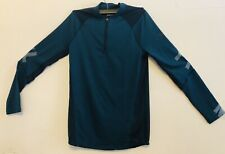Mens Size Sm/Ch Under Armour 1/2 Zip Top Green 1306430-716