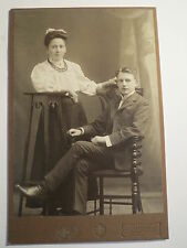 Freiberg i. S. - junges Paar - Mann und Frau - Kulisse / KAB