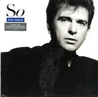 Peter Gabriel - So - Remastered 180gram Vinyl LP & Download *NEW & SEALED*