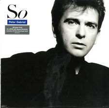 Peter Gabriel - So - Remastered 180gram Vinyl LP & Download *NEW & SEALED*