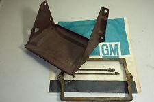 1955 Chevrolet Battery Tray U bolts & Hold Down Bracket Original GM 210 belair