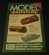 Model Collector Magazine (July 1990) - Albion - White Metal Review - Which F40?