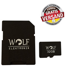 MicroSD 32 GB - Klasse 10 - inkl. SD Adapter - Handy - Kamera - GoPro