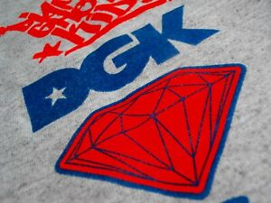 DGK X DIAMOND DIRTY GHETTO KIDS SUPPLY CO, TANK SINGLET MEN XL RARE