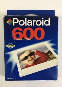 Vintage Polaroid 600 Instant Film 10 count Pack Expired 02/2000 - SEALED!
