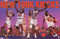 POSTER: NBA BASKETBALL:  NY KNICKS 1997  COLLAGE  - FREE SHIPPING   RC8 P