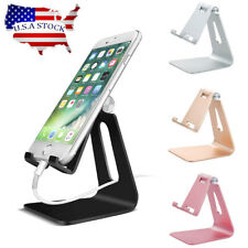 Cell Phone Tablet Stand Aluminum Desk Table Holder Cradle Dock For iPhone iPad