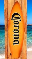 NEW CORONA EXTRA CERVEZA BEER METAL SURFBOARD 48.5x14.5 BAR PUB TIN WALL SIGN