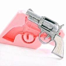 Pistol Silicone Mould Mold Fondant Chocolate Soap Wax Candle Resin Clay  (905)