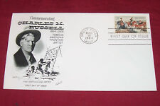 1964 Charles Russell First Day of Issue Stamped Envelope 5 Cent US Postage Stamp