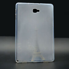 Tpu Silikon Case für Samsung Tab A 10,1 T580/T585 (2016) Transparent Matt Hülle