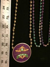Beads Mardi Gras Unique Multicolor And One Medallion  Halloween