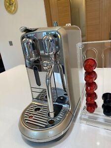 SAGE Nespresso Machine Creatista Model BNE600