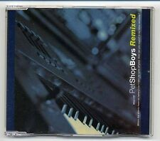 Pet shop boys MAXI-CD where the streets have no name remixed-Dutch 3-track CD