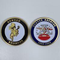 DENVER BRONCOS AFL NFL 1960-1969 COMMEMORATIVE CHALLENGE COIN