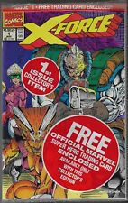 X-FORCE #1 SEALED IN BAG WITH CABLE TRADING CARD NM MT 1997 2ND DEADPOOL APP.