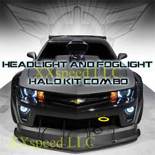 ORACLE Halo HEADLIGHT/FOGLIGHTS Chevrolet Camaro 10-13 (non RS only!) WHITE LED