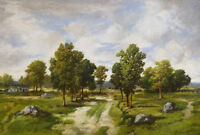 "stunning art oil painting 100% handpainted on canvas ""landscape"""