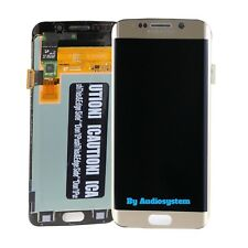 DISPLAY LCD+TOUCH SCREEN SAMSUNG GALAXY S6 EDGE SM-G925 SCHERMO VETRO ORO GOLD