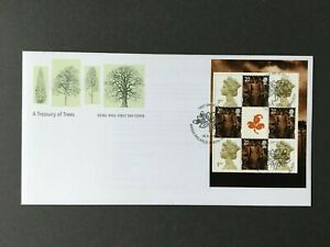 GB393) Great Britain 2000 A Treasury of Trees FDC
