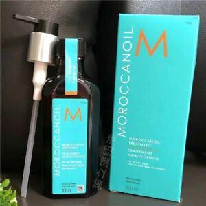 Moroccanoil Moroccan Argan Oil Hair Treatment100ml Bonus Free Pump all hair type