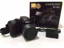 Nikon COOLPIX B700 SL Digital Camera 20MP Optical Zoom 60x Black Boxed