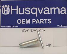 Genuine 504914001 Husqvarna ChainSaw Crankcase Seal Removal Tool Flywheel Side