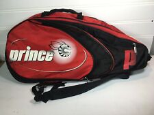 Prince Multi Tennis Racket Padded Bag Red
