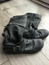 Leather Miss Sixty Boots Size 4